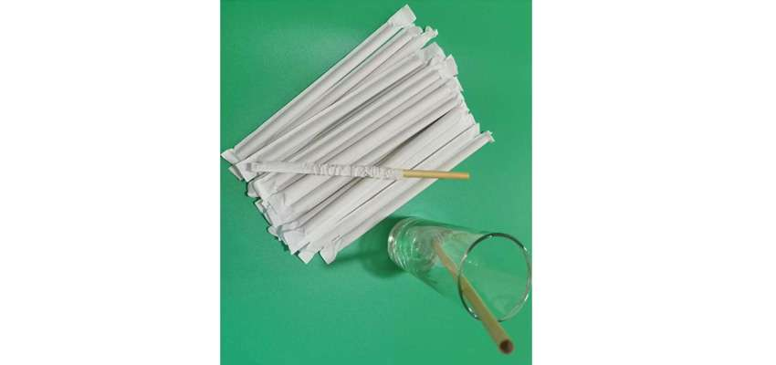 Paper-Wrapped Reed Straws